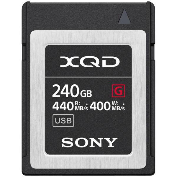Sony XQD seria G 240GB, citire 440MB/s, scriere 400MB/s 0