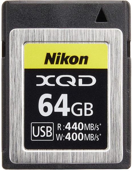 Nikon card XQD  64GB, citire 440MB/s, scriere 400MB/s 0