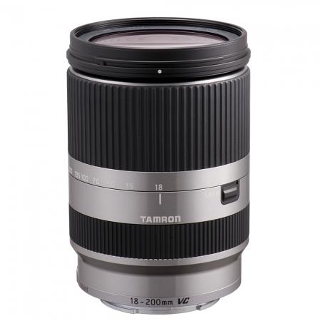 Tamron 18-200mm F/3.5-6.3 Di III VC argintiu -   obiectiv Mirrorless montura Sony E [0]