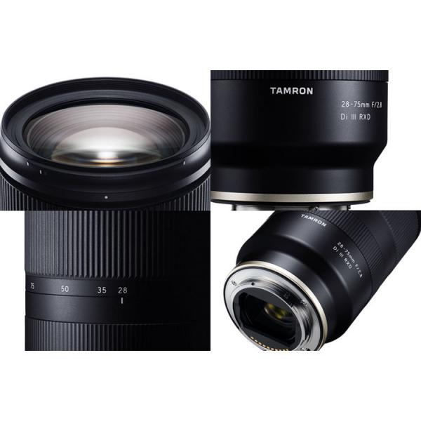 Tamron 28-75mm f/2.8 Di III RXD -   obiectiv Mirrorless montura Sony E 3