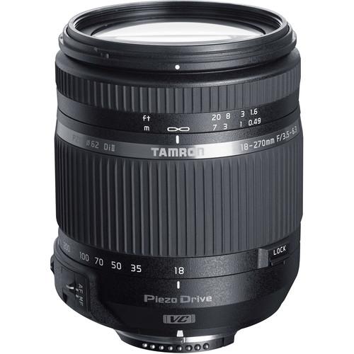 Tamron AF 18-270mm f/3.5 -6.3 Di II VC PZD - Montura Nikon F 0