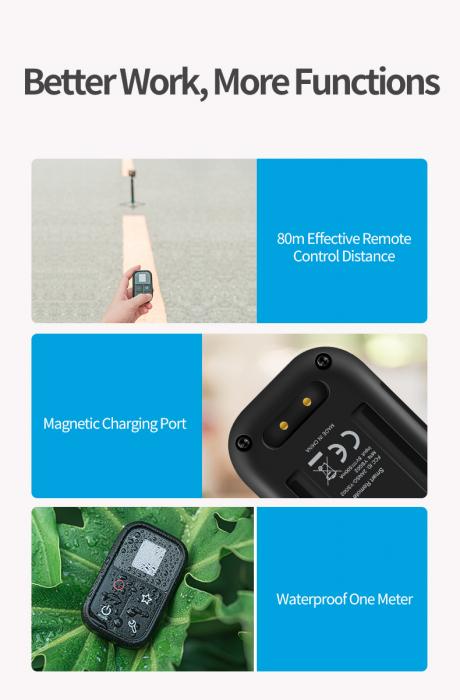 Telecomandă wifi pentru Gopro 5,6,7,8 - GP-RMT-T02 [5]