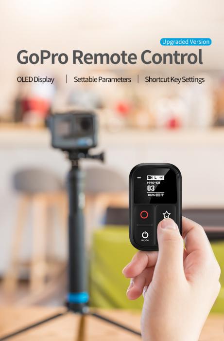 Telecomandă wifi pentru Gopro 5,6,7,8 - GP-RMT-T02 [0]