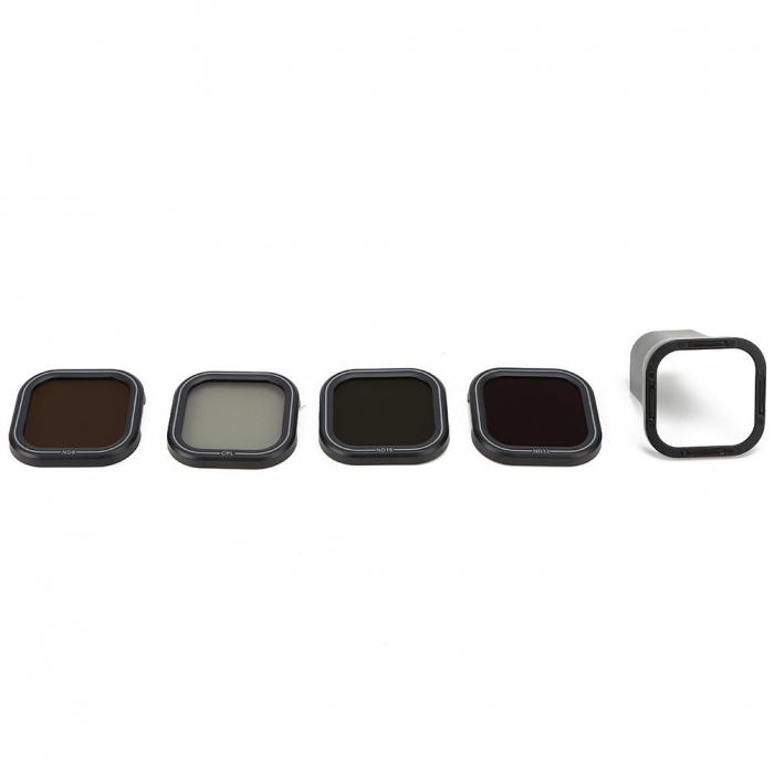 TELESIN Set 4 filtre CPL / ND8 / ND16 / ND32 pentru obiective GoPro HERO 9 - GP-FLT-903 [1]
