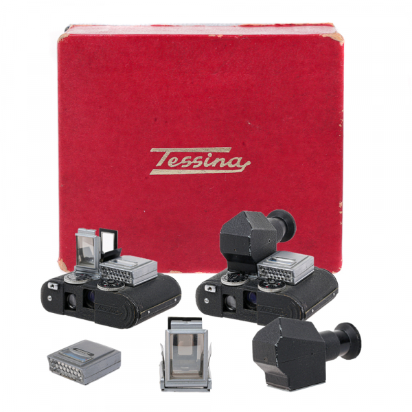 Tessina  - set cutie, prisma si expon.original. 0