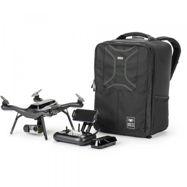 Think Tank Airport Helipak V.2 - rucsac dedicat dronelor quadcopter 3DR Solo - Black 10