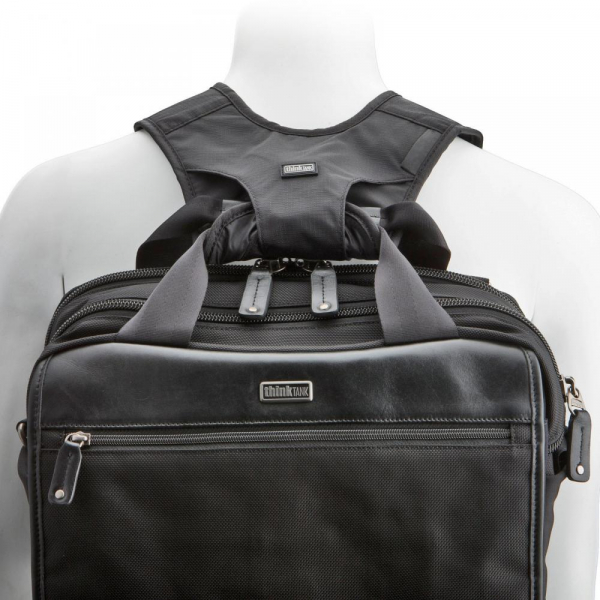 Think Tank Backpack Conversion Straps - bretele care transforma geanta de umar in rucsac foto - Black 2