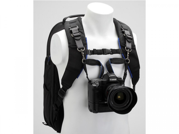 Think Tank camera strap black/ blue V2.0 - curea umar aparat foto 3