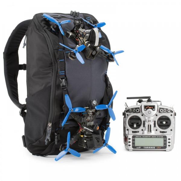 Think Tank FPV Session Backpack - rucsac dedicat dronelor - Black+Gray 5