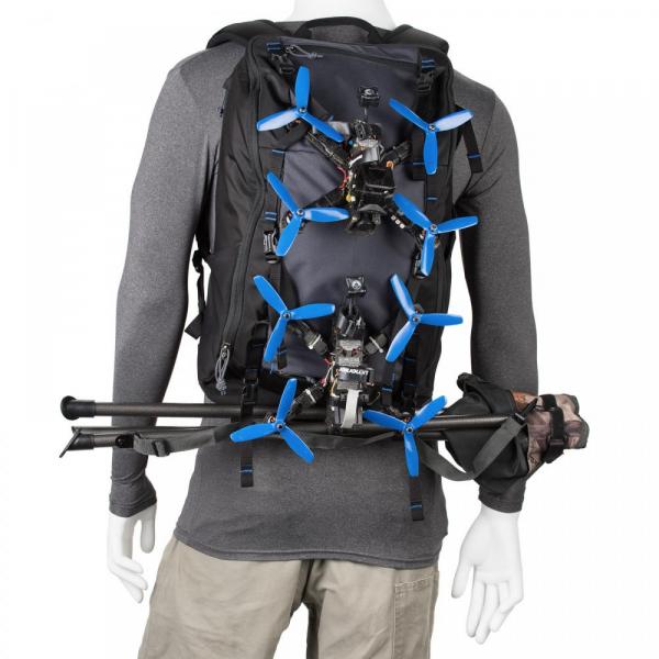 Think Tank FPV Session Backpack - rucsac dedicat dronelor - Black+Gray 7