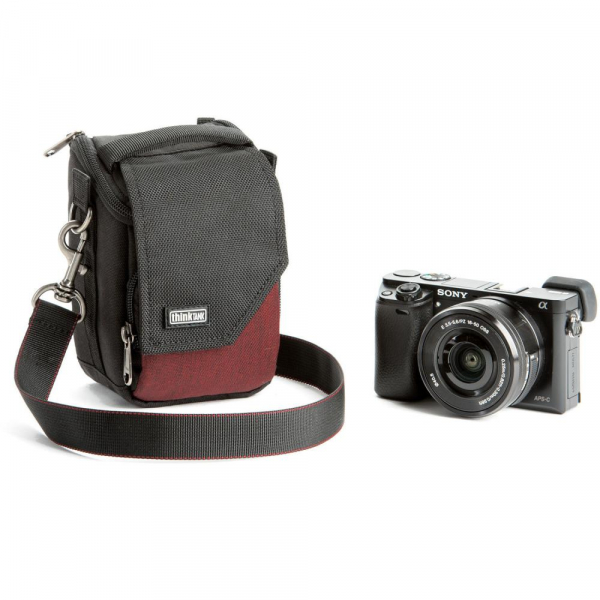 Think Tank Mirrorless Mover 5 - Deep Red - geanta foto 2