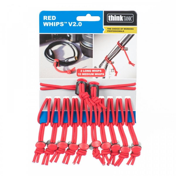 Think Tank Red Whips V2.0 - 12 legaturi elastice reglabile 0
