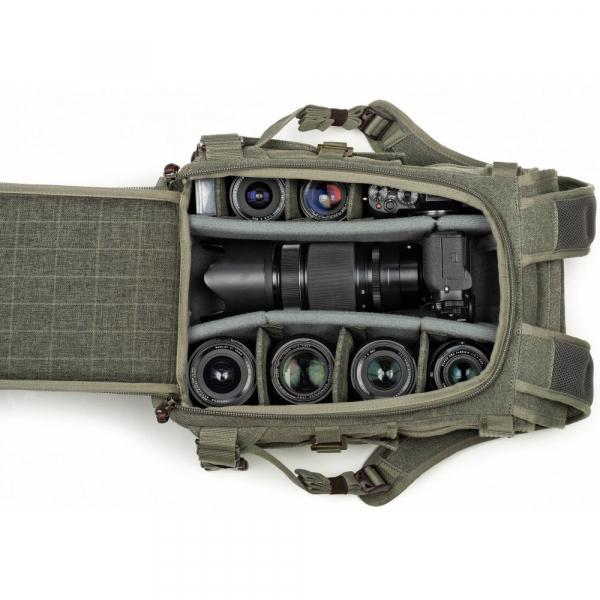 Think Tank Retrospective 15 Backpack , Black  - Ruscac foto 2