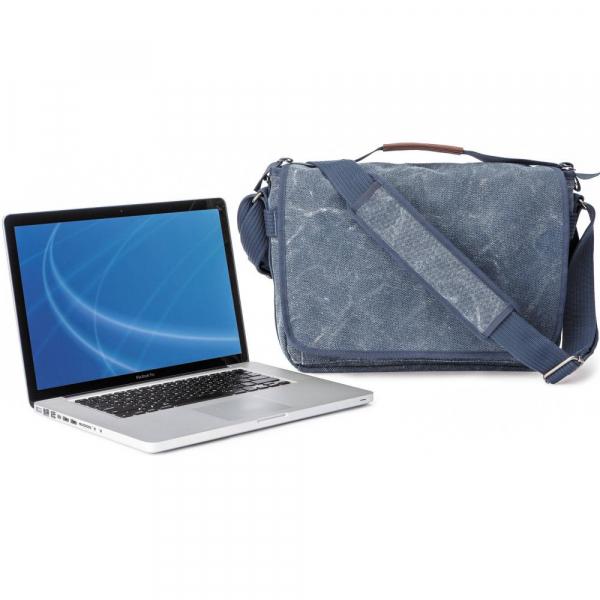 Think Tank Retrospective Laptop Case 15L Blue  Slate - geanta laptop 1
