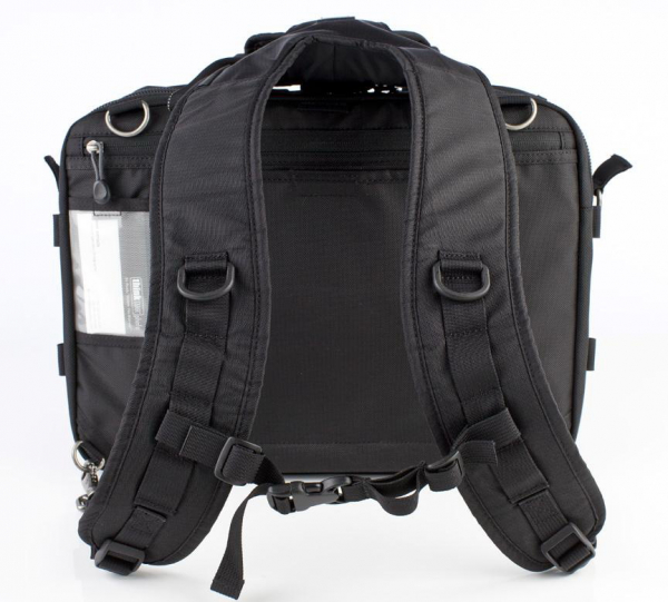 Think Tank Shoulder Harness V2.0 Black - bretele care transforma geanta de umar in rucsac foto 2