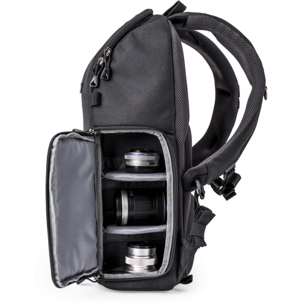 Think Tank Trifecta 8 Mirrorless - Black - rucsac foto 5