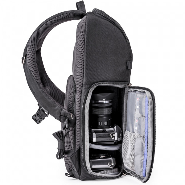 Think Tank Trifecta 8 Mirrorless - Black - rucsac foto 4