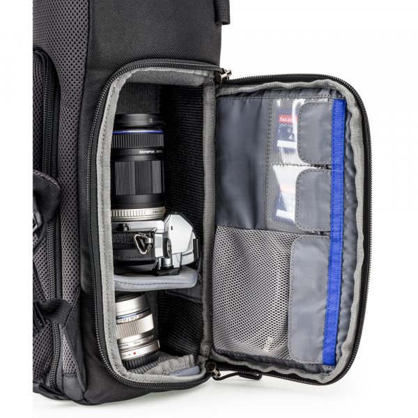 Think Tank Trifecta 8 Mirrorless - Black - rucsac foto 7