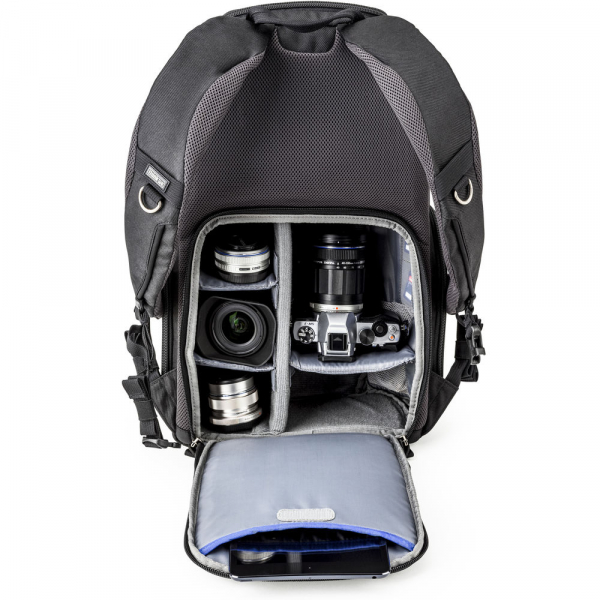 Think Tank Trifecta 8 Mirrorless - Black - rucsac foto 3