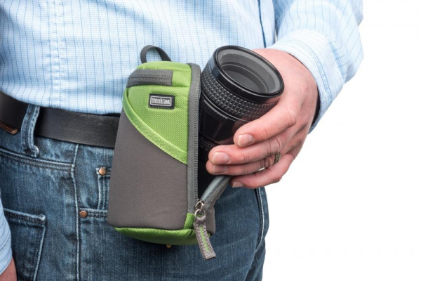ThinkTank Lens Case Duo 10 Green - toc obiective 5