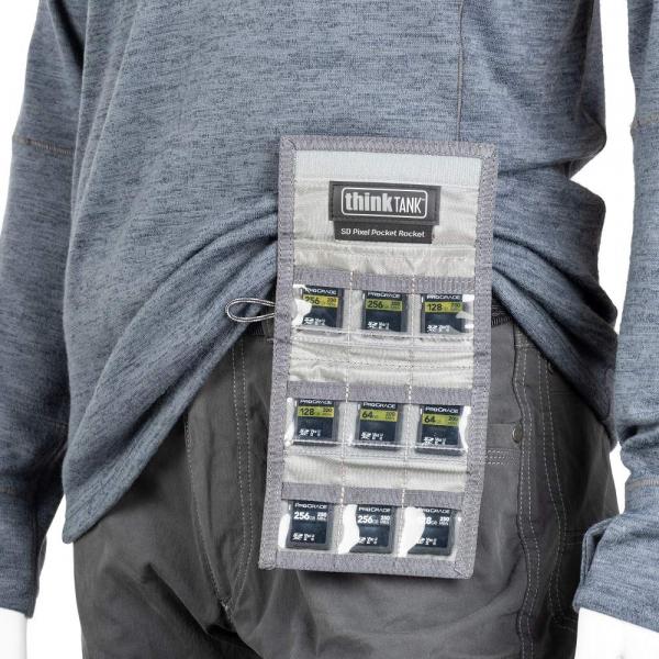 ThinkTank SD Pixel Pocket Rocket -black- husa pentru 9 carduri SD 6