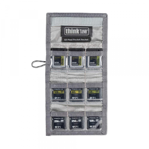 ThinkTank SD Pixel Pocket Rocket -black- husa pentru 9 carduri SD 5