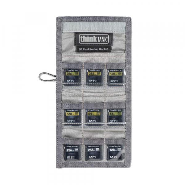 ThinkTank SD Pixel Pocket Rocket -black- husa pentru 9 carduri SD 4