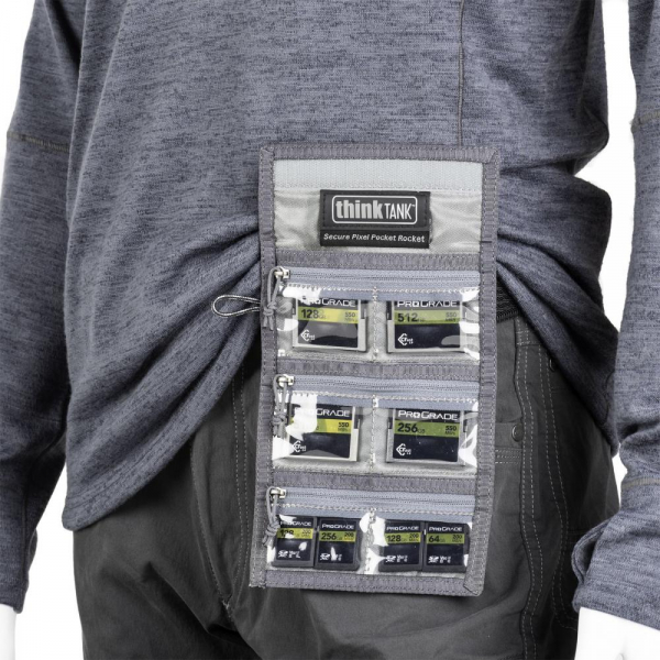 ThinkTank Secure Pixel Pocket Rocket -black- husa pentru carduri 8