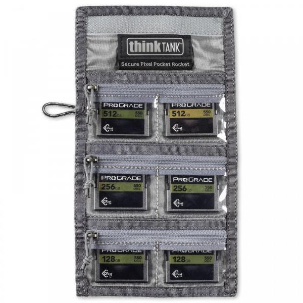 ThinkTank Secure Pixel Pocket Rocket -black- husa pentru carduri 6