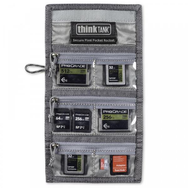 ThinkTank Secure Pixel Pocket Rocket -black- husa pentru carduri 5