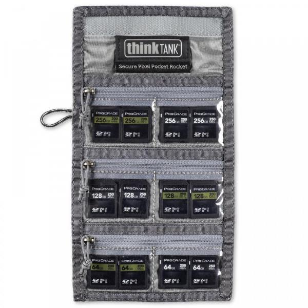 ThinkTank Secure Pixel Pocket Rocket -black- husa pentru carduri 7