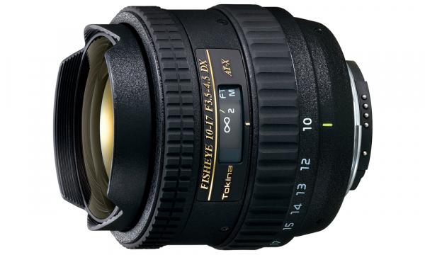 Tokina 10-17mm f/3.5-4.5 AT-X DX Fisheye pentru Nikon 0