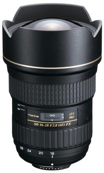 Tokina AT-X 16-28mm f/2.8 PRO FX pentru Canon 0
