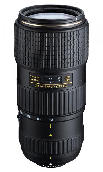 Tokina AT-X 70-200mm f/4 FX VCM-S pentru Nikon 0