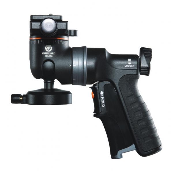 Vanguard GH-300T-  cap trepied foto , tip pistol grip [0]