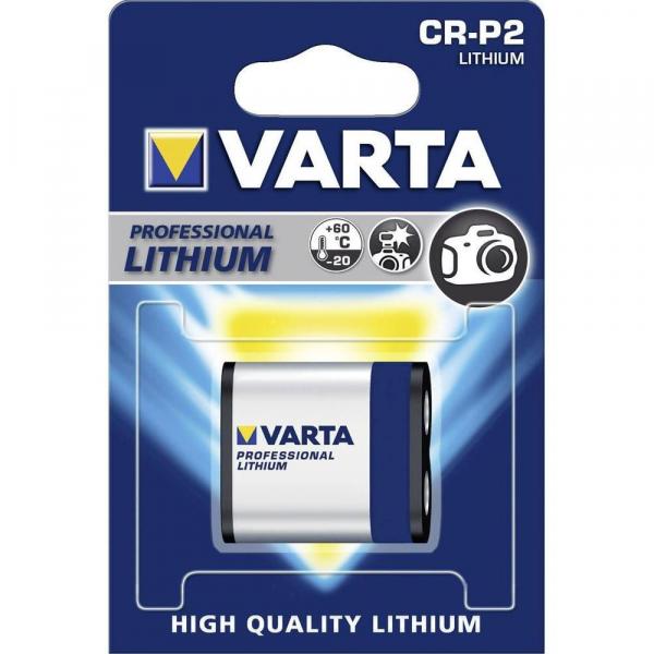 Varta CR-P2 baterie  LITHIUM 6V 0