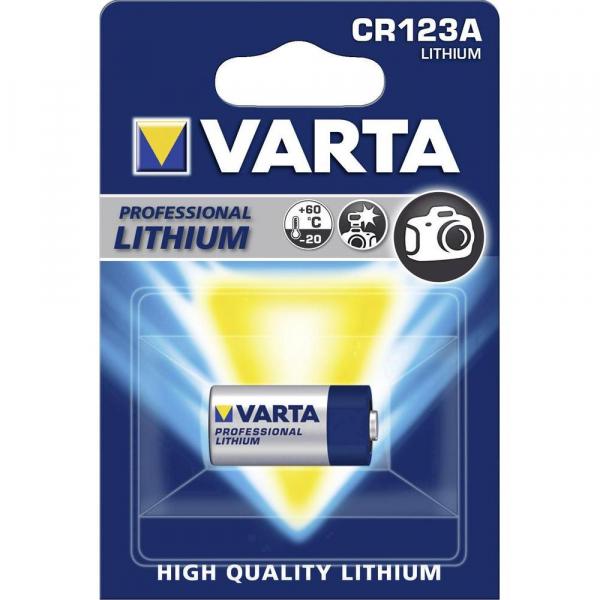 Varta CR123A - baterie 3V 0