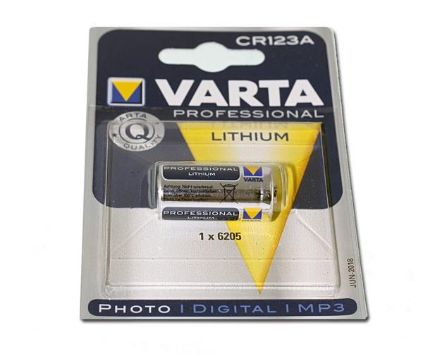 Varta CR123A - baterie 3V 1