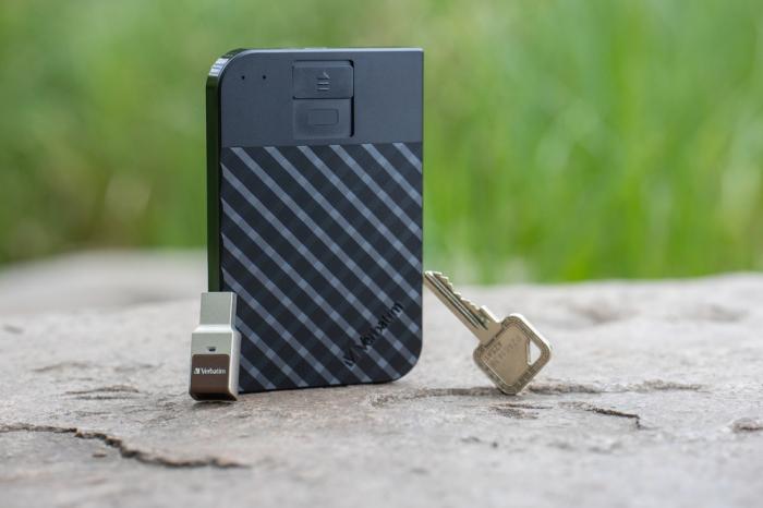 Verbatim Fingerprint Secure Portable Hard Drive 2TB - HDD extern cu scanare de amprenta [8]