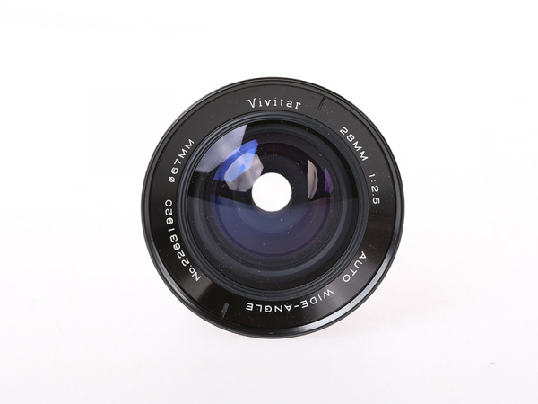 Vivitar 28mm f/2.5 , OM (S.H.) [1]