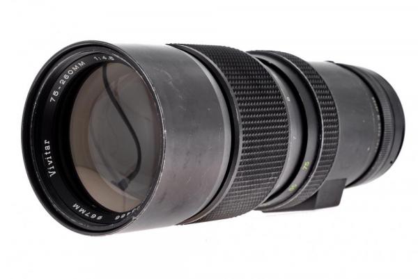 Vivitar 75-260mm f/4.5 , M42  (S.H.) 0