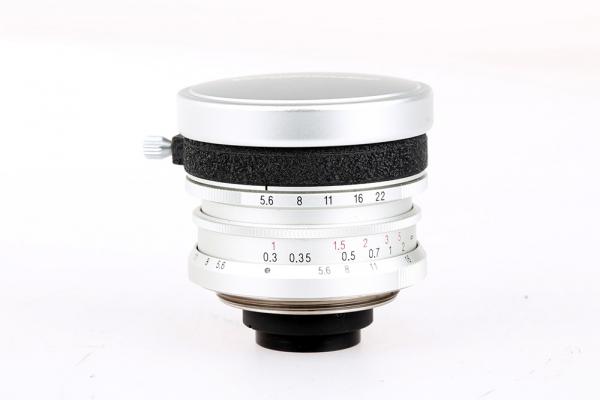 Voigtlander 12mm f/5.6 Ultra Wide Heliar + Viogtlander filter adapter (S.H.) , M39 0