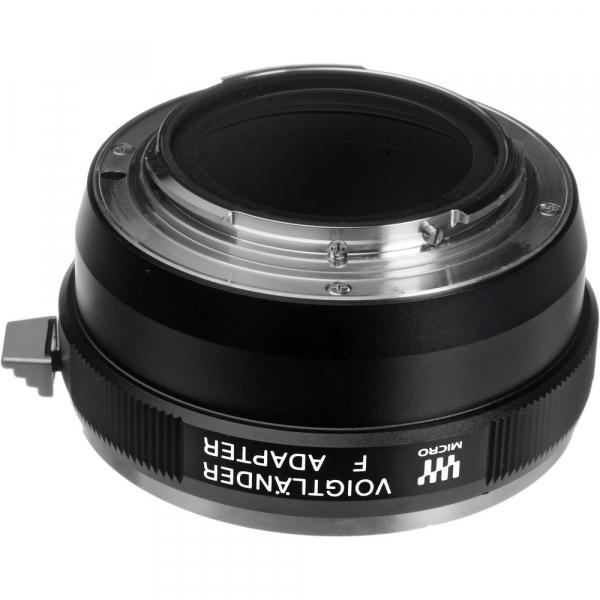 Voigtlander F - Adaptor obiective montura Nikon F pentru aparate mIcro 4/3 / MFT (S.H.) 1