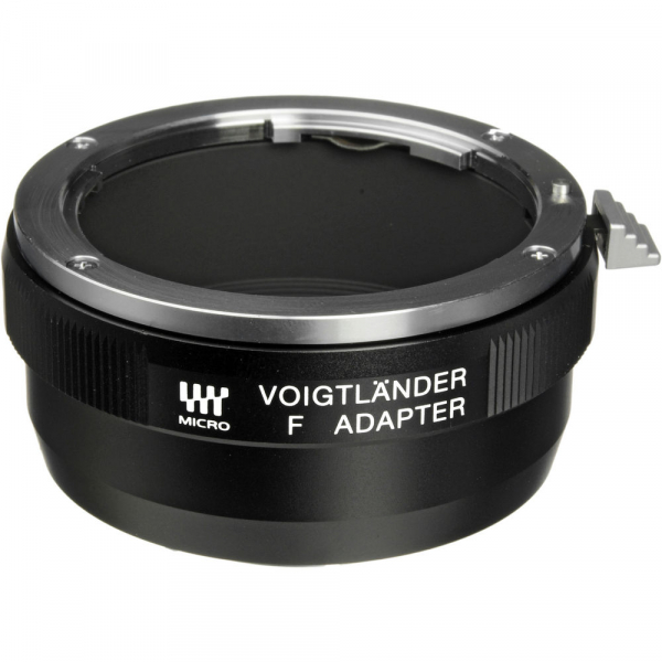 Voigtlander F - Adaptor obiective montura Nikon F pentru aparate mIcro 4/3 / MFT (S.H.) 0