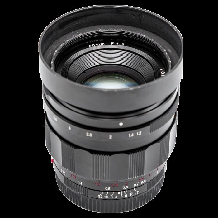 Voigtlander Nokton 40mm f/1.2 Obiectiv Mirrorless Sony FE - Second Hand [0]