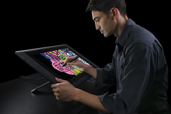 """Wacom Cintiq 22HD DTK-2200 - tableta grafica 21.5"""" [4]"""