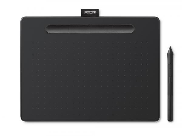 Wacom - Intuos M Bluetooth Tableta Grafica, Negru 0