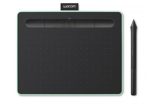 Wacom - Intuos S Bluetooth Tableta Grafica, Pistachio 0