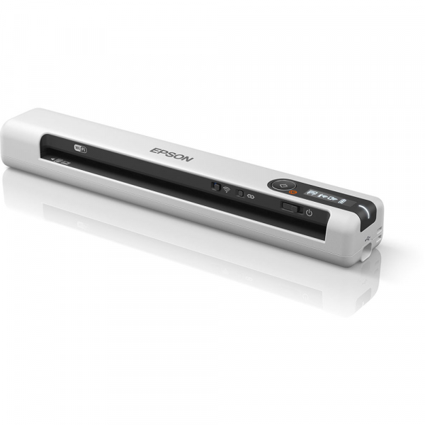 Epson WorkForce DS-80W Wireless A4 Mobile Document Scanner [1]