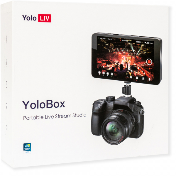 YoloLiv YoloBox - Portable Multi-Cam Live Stream Studio 9